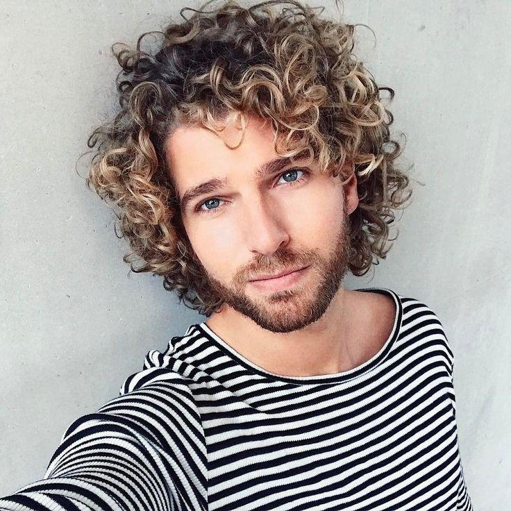 Best 25+ Men Curly Hair Ideas On Pinterest | Men With Curly Hair Pertaining To Long Curly Haircuts For Men (View 11 of 15)