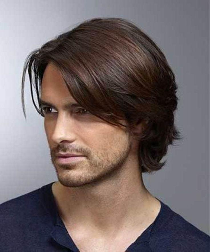 Best 25+ Mens Medium Length Hairstyles Ideas On Pinterest | Medium For Medium Long Hairstyles For Men (View 9 of 15)