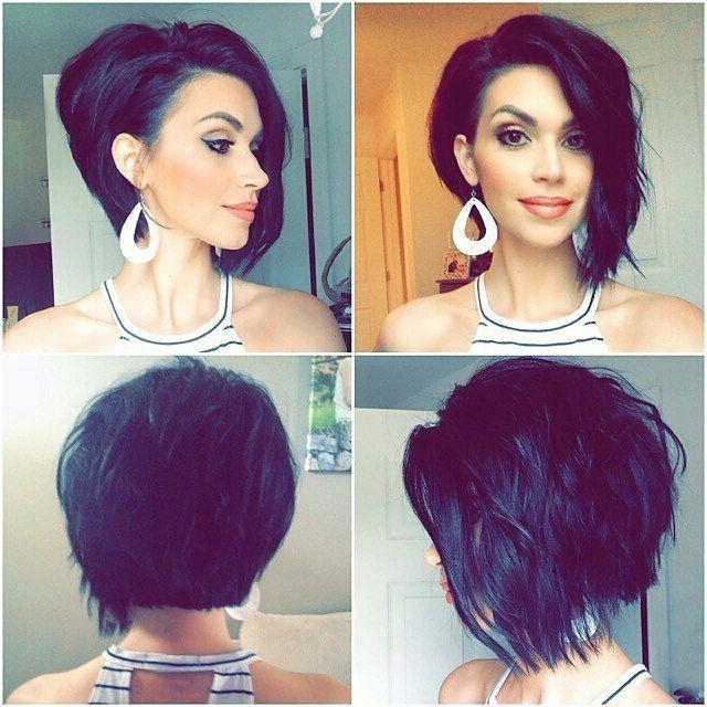 Best 25+ Short Asymmetrical Hairstyles Ideas On Pinterest For Best And Newest Short Asymmetrical Bob Hairstyles (View 4 of 15)
