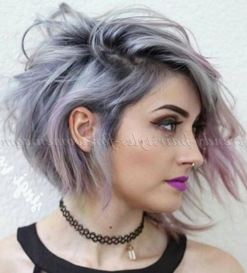Best 25+ Short Asymmetrical Hairstyles Ideas On Pinterest Regarding Fashionable Asymmetrical Bob Haircuts (View 3 of 15)