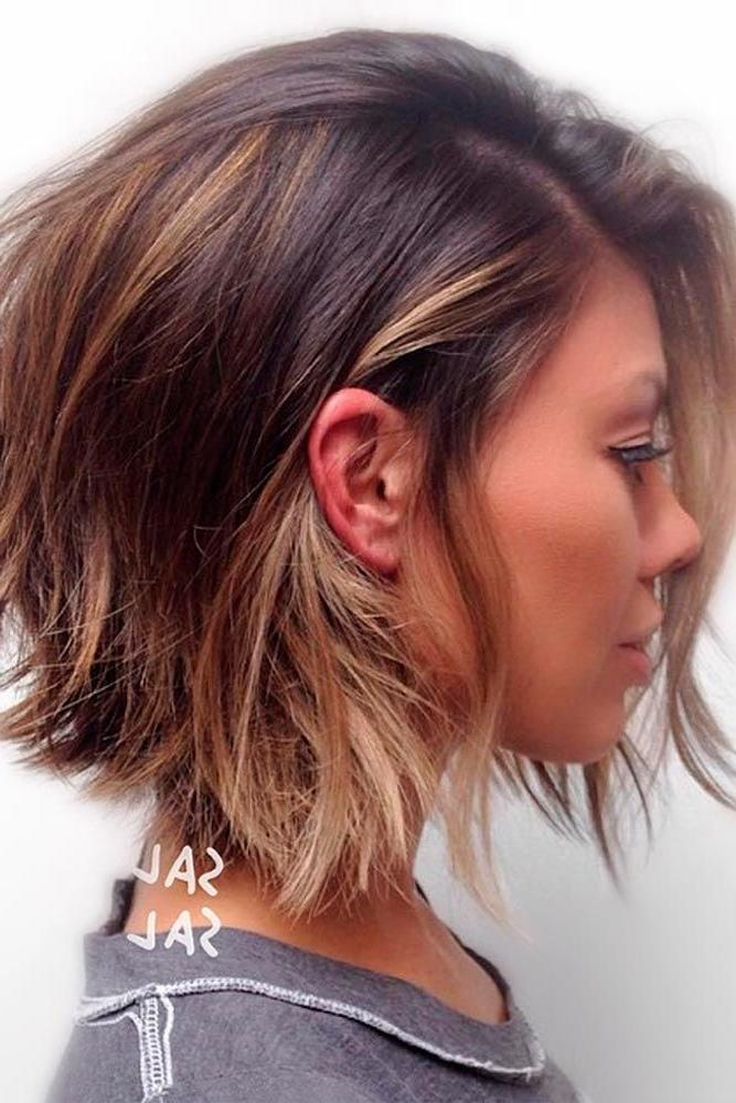Best 25+ Short Layered Hairstyles Ideas On Pinterest | Hair Cuts Throughout Long And Short Layers Hairstyles (View 9 of 15)