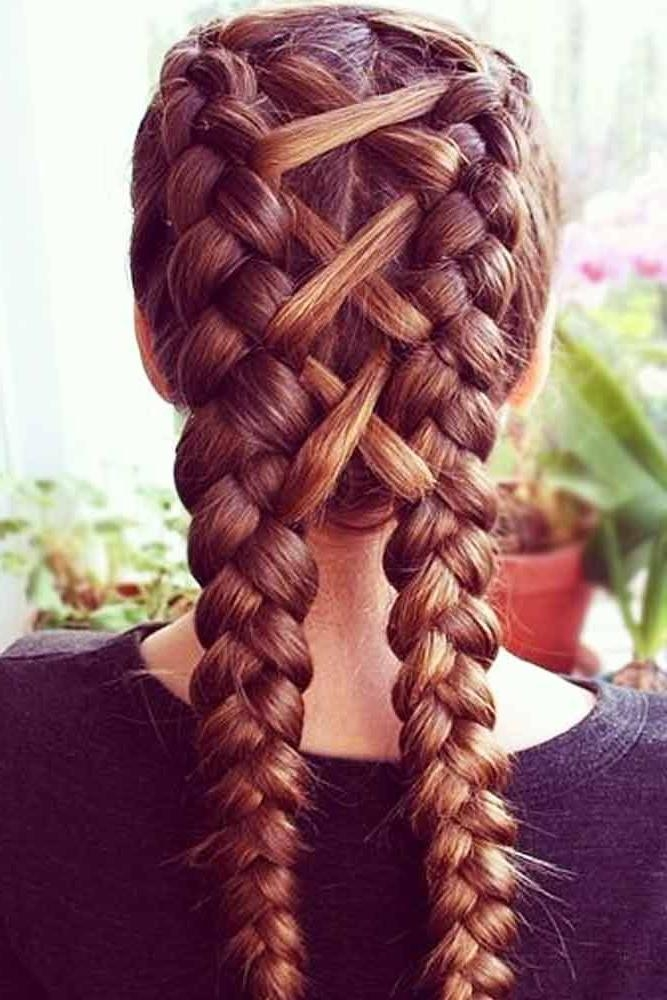 Best 25+ Softball Hairstyles Ideas On Pinterest | Softball Braids Within Braids Hairstyles For Long Thick Hair (View 10 of 15)