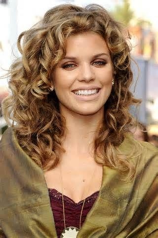 Best 25+ Wavy Permed Hairstyles Ideas On Pinterest | Perm Curls Inside Long Permed Hairstyles With Bangs (View 5 of 15)