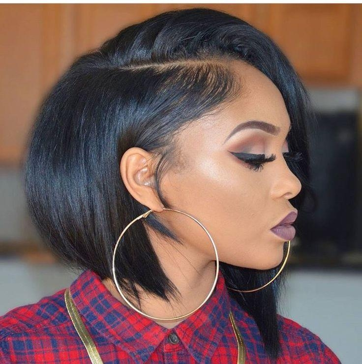 Featured Photo of Short Bob Hairstyles With Weave