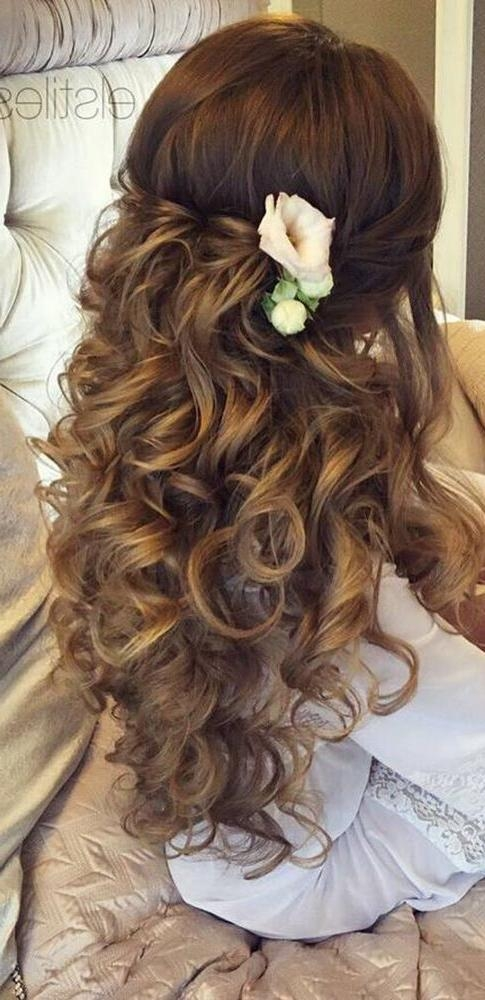 Best 25+ Wedding Hairstyles Long Hair Ideas On Pinterest | Wedding Inside Wedding Hairstyles For Long Hair (View 8 of 15)