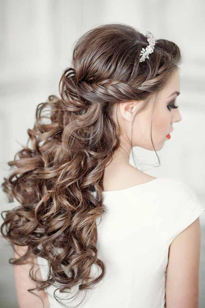 Best 25+ Wedding Hairstyles Long Hair Ideas On Pinterest | Wedding Intended For Wedding Hairstyles For Long Hair (View 10 of 15)