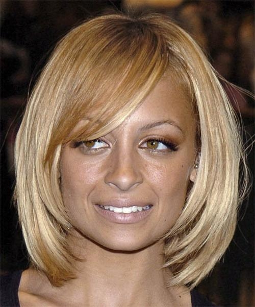 Best And Newest Nicole Richie Bob Hairstyles With Nicole Richie Medium Straight Casual Hairstyle (View 2 of 15)