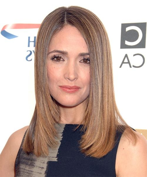 Best And Newest Rose Byrne Bob Hairstyles In Rose Byrne Long Straight Formal Hairstyle (View 4 of 15)