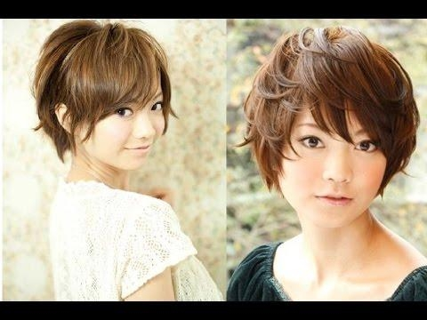 Best Most Popular Short Asian Hairstyles For Women – Youtube With Short Asian Hairstyles For Women (View 3 of 15)