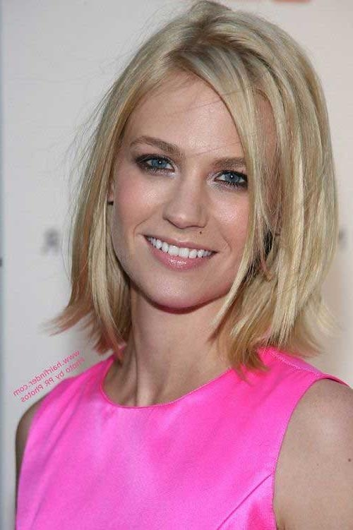 Bob Hairstyles 2017 For Most Recent Medium Length Bob Hairstyles For Thin Hair (View 5 of 15)