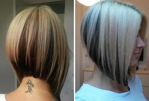 Bob Hairstyles 2017 – Short Hairstyles Throughout Latest Asymmetrical Bob Hairstyles Back View (View 3 of 15)