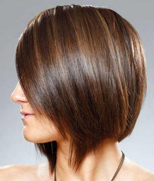 Bob Hairstyles 2017 – Short In 2018 Inverted Bob Hairstyles For Fine Hair (View 9 of 15)