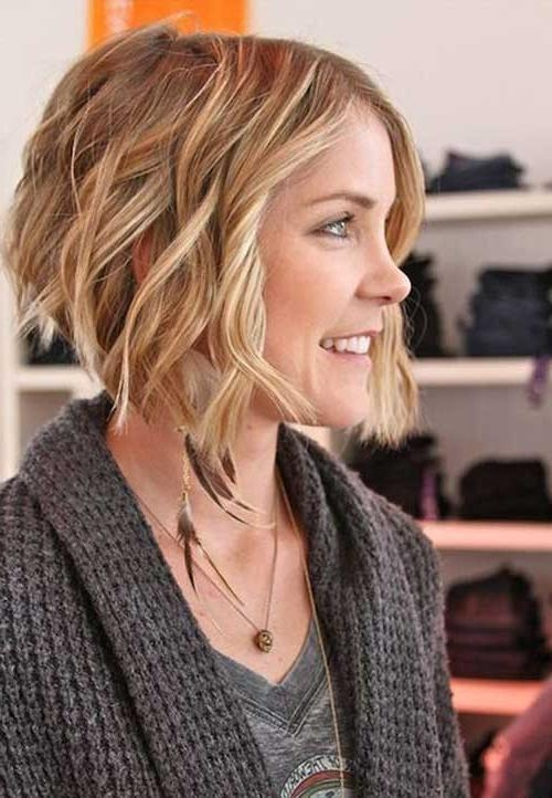 Bob Hairstyles 2017 – Short With Regard To Trendy Bob Hairstyles For Wavy Thick Hair (View 4 of 15)