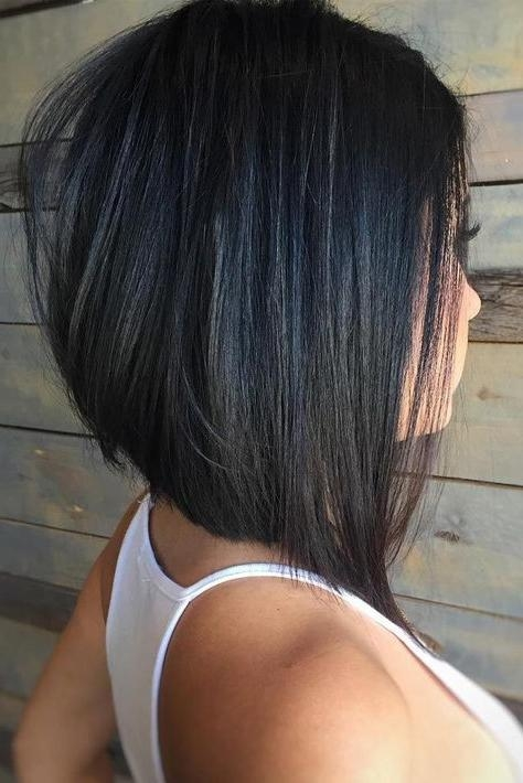 Bob Hairstyles Inside Best And Newest Medium Length Bob Hairstyles For Thick Hair (View 5 of 15)