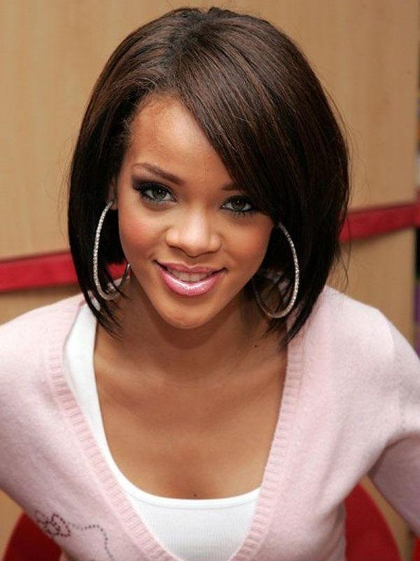 Braids, Hairstyles And Hair In Most Recently Released Rihanna Bob Hairstyles With Weave (View 3 of 15)