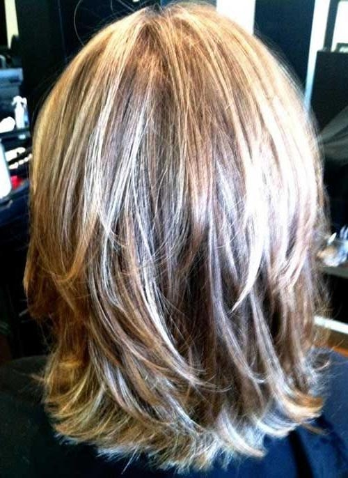 15 best ideas of medium length layered bob hairstyles