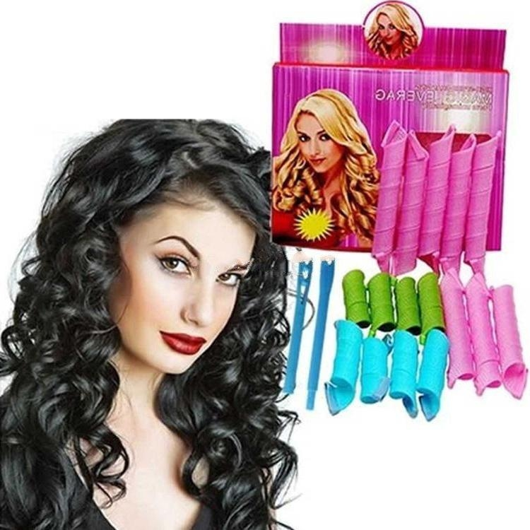 By Dhl Diy Magic Leverag Magic Hair Curler Roller Magic Circle In Curlers For Long Thick Hair (View 10 of 15)