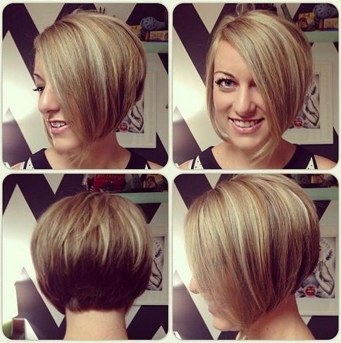 Chic Short Asymmetrical Bob Haircut For Young Ladies – Hairstyles In Trendy Short Asymmetrical Bob Hairstyles (View 6 of 15)