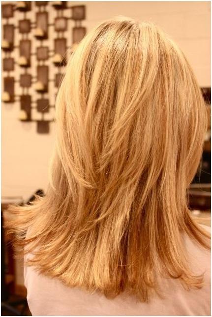 Choppy, Layered Hairstyles: Blunt Medium Haircut – Popular Haircuts In Long Choppy Layers Haircuts (View 10 of 15)