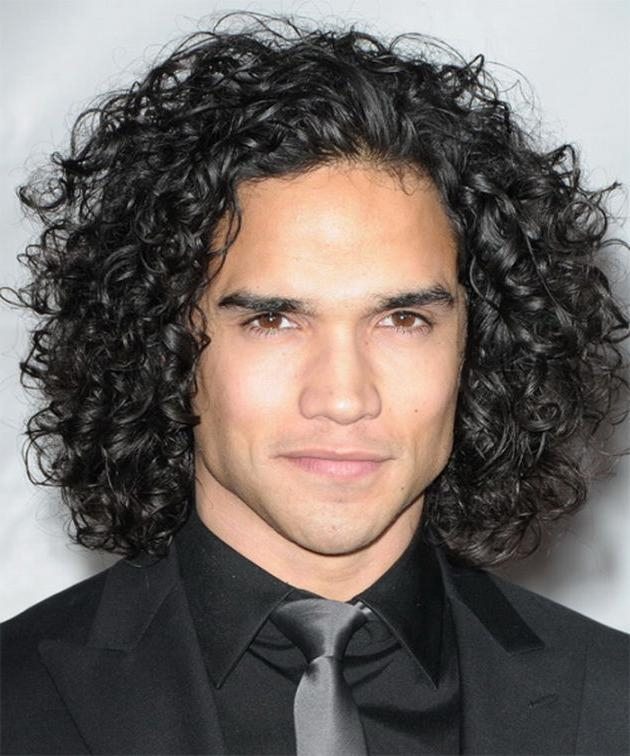 Curly Haircuts For Men | Hairjos Within Long Curly Haircuts For Men (View 7 of 15)