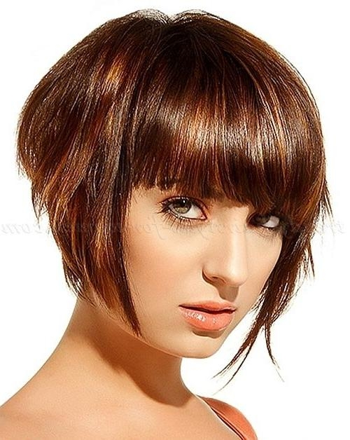 Current Graduated Inverted Bob Hairstyles With Fringe Inside The 25+ Best Graduated Bob With Fringe Ideas On Pinterest (Gallery 3 of 15)