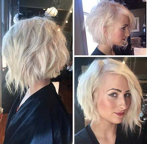 Current Stylish Asymmetrical Bob Hairstyles Intended For Best 25+ Short Asymmetrical Hairstyles Ideas On Pinterest (View 7 of 15)