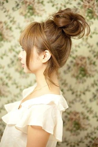Cute Korean Girl Hairstyle Pictures 2015 – Latest Hair Styles Intended For Korean Cute Girls Latest Hairstyles (View 15 of 15)