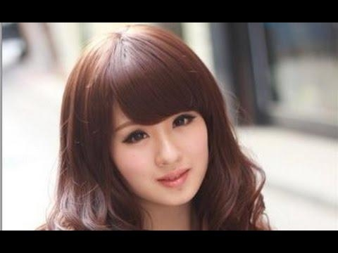 Cute Korean Hairstyles For Round Faces – Youtube Pertaining To Korean Hairstyle With Round Face (View 6 of 15)