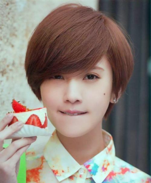 Cute Short Korean Bob Haircut With Bangs – Hairstyles Weekly With Short Hairstyles For Korean Girls (View 11 of 15)