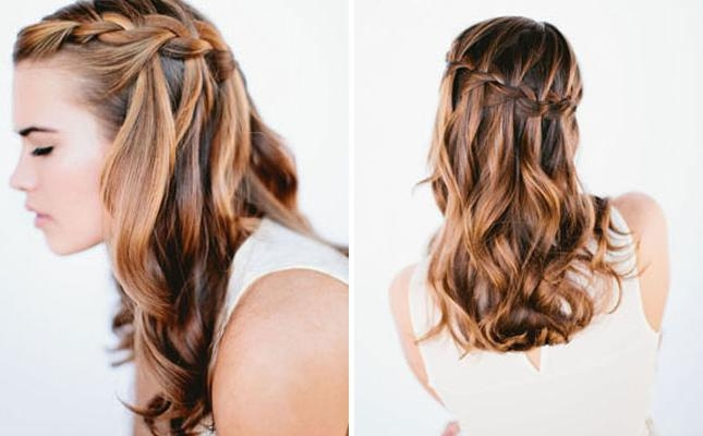 Diy Hair Style Ideas For Long Hair – Diy Ideas Tips Throughout Long Hairstyles For Cocktail Party (View 11 of 15)
