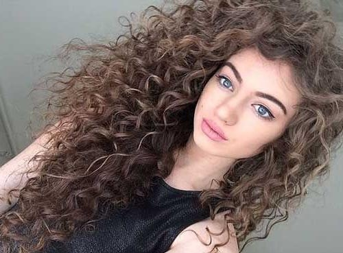 Diy Leave In Conditioners For Curly Hair – Curlyhair 2017 Pertaining To Haircuts For Women With Long Curly Hair (View 12 of 15)