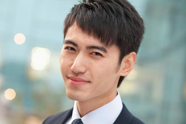 Photo Gallery Of Short Hairstyles For Asian Men Viewing 13