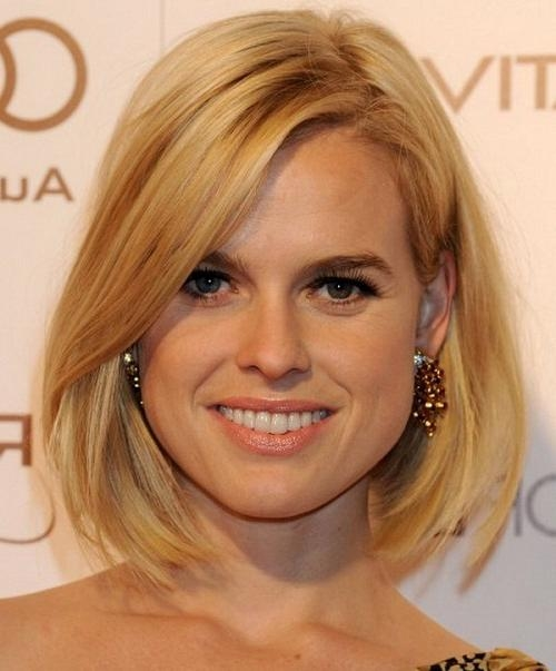 Famous Medium Length Bob Hairstyles For Fine Hair For Medium Length Inverted Bob Hairstyles For Fine Hair – New (Gallery 5 of 15)