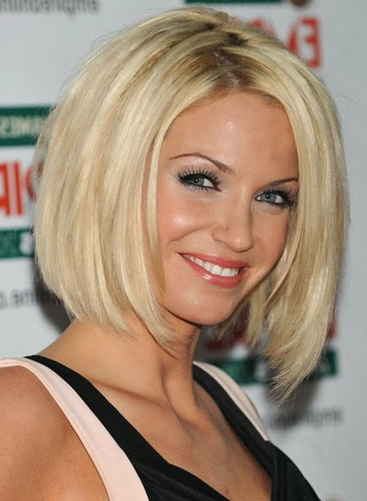 Famous Medium Length Bob Hairstyles For Thin Hair For Medium Layered Bob Hairstyles For Fine Hair (View 4 of 15)
