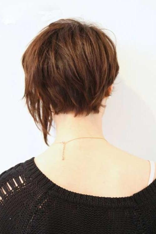 Fashionable Asymmetrical Bob Hairstyles Back View Pertaining To Asymmetrical Bob Haircut Back View For Found Hairdo – Tiny Hairstyles (View 8 of 15)