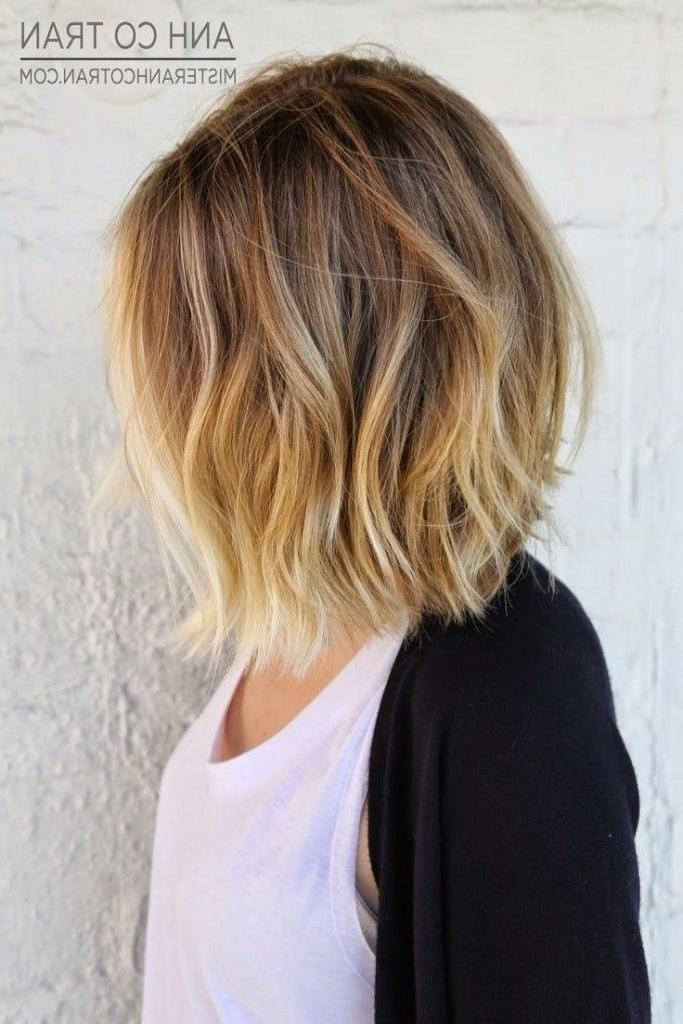Fashionable Colored Bob Hairstyles Pertaining To Best 25+ Bob Hair Color Ideas On Pinterest (View 9 of 15)