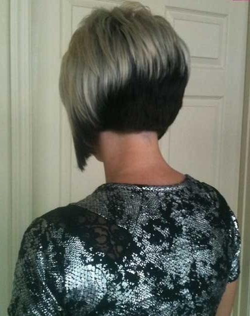 Fashionable Inverted Bob Hairstyles Back View In 25 Short Inverted Bob Hairstyles (View 5 of 15)