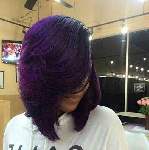 Fashionable Short Colored Bob Hairstyles With Regard To Best 25+ Layered Bob Hairstyles For Black Women Ideas On Pinterest (View 7 of 15)