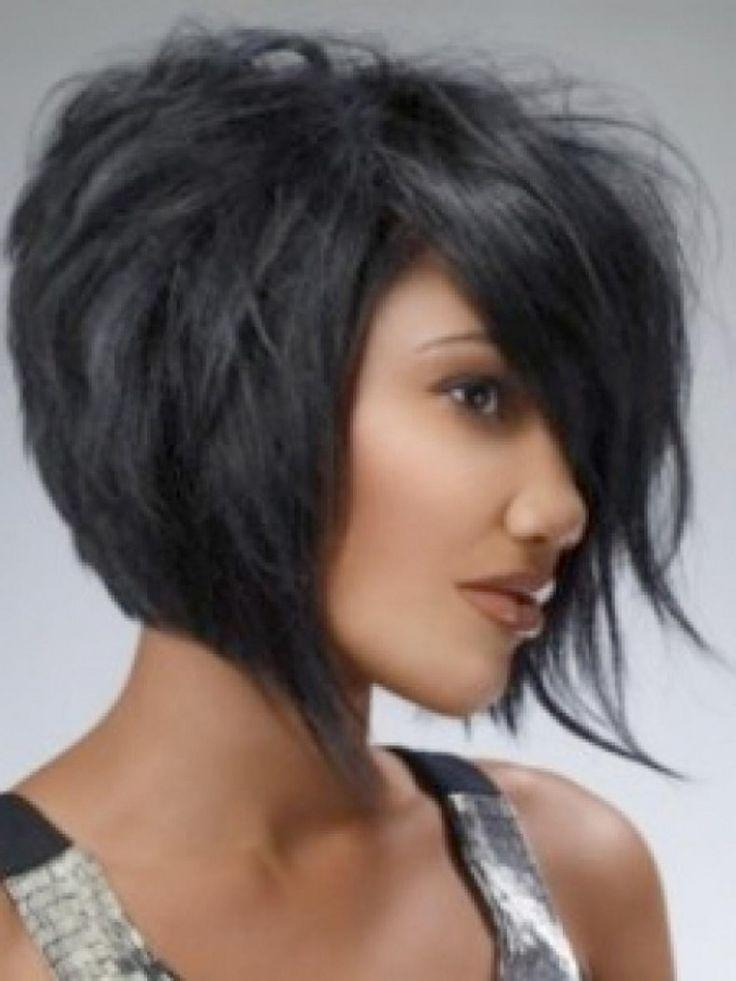Fashionable Short Layered Bob Haircuts Inside Más De 25 Ideas Increíbles Sobre Black Layered Bob Hairstyles En (View 4 of 15)