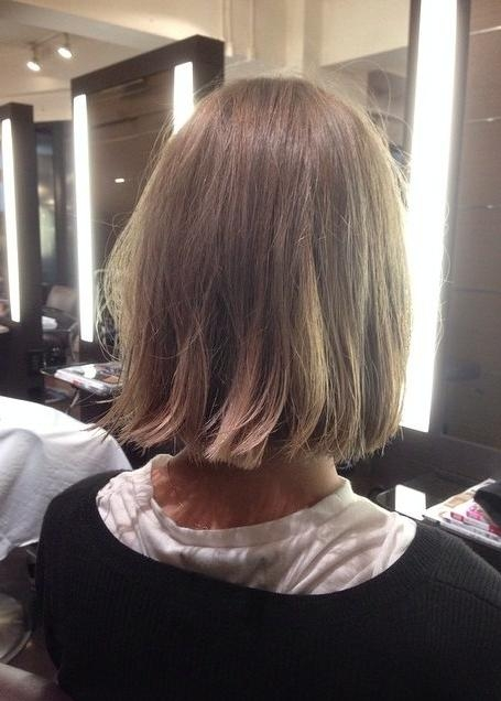 Fashionable Simple Style Bob Hairstyles Inside 21 Cute Medium Length Bob Hairstyles: Shoulder Length Haircut (View 13 of 15)