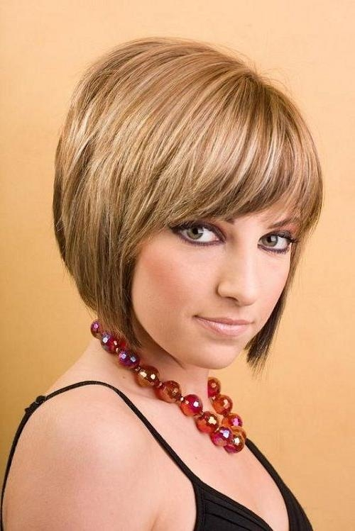 Favorite Cute Inverted Bob Hairstyles For Beautiful Women Within Best 25+ Short Hairstyles With Bangs Ideas On Pinterest (View 5 of 15)