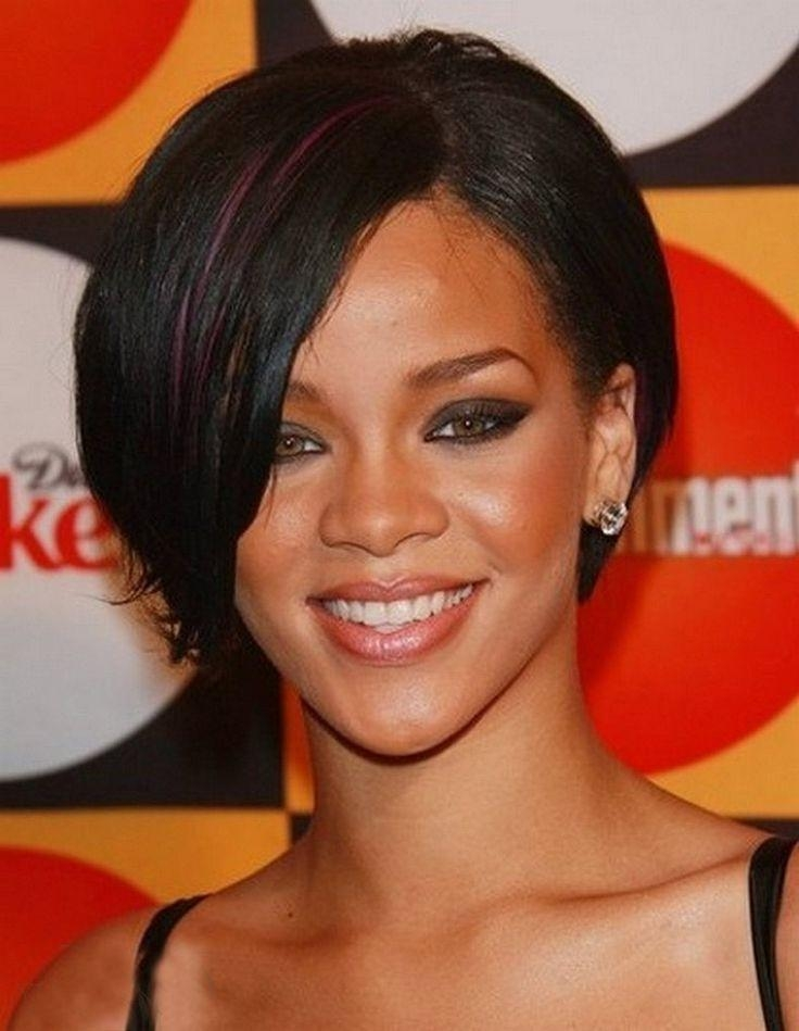 Photo Gallery Of Rihanna Bob Hairstyles With Weave Viewing 2 Of 15