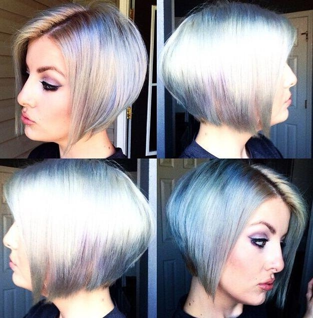 Favorite Short Colored Bob Hairstyles Intended For 30 New Season Pictures Of Bob Haircuts! – Page 2 Of 8 – Popular (View 8 of 15)