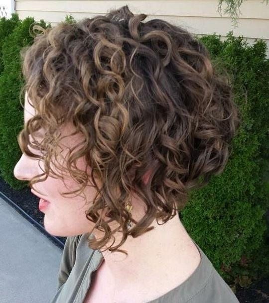 Get An Inverted Bob Haircut For Curly Hair With Regard To Well Known Curly Inverted Bob Hairstyles (Gallery 70 of 277)