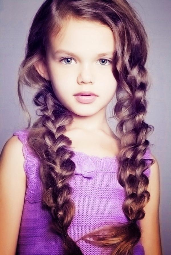 Featured Photo of Long Hairstyles For Young Girls