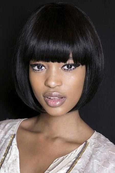Great Short Hairstyles For Black Women (View 12 of 15)