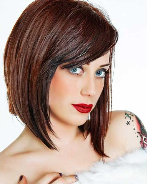 Hairstyles & Haircuts 2016 – 2017 With Favorite Medium Length Bob Hairstyles For Thick Hair (View 8 of 15)