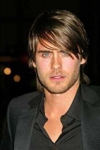 Hairstyles Images Blog: Men Hairstyles For Round Faces With Regard To Long Hairstyles For Round Face Man (View 9 of 15)