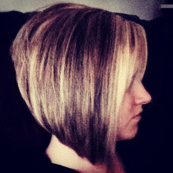 Photo Gallery Of Long Front Short Back Hairstyles Viewing 9 Of 15