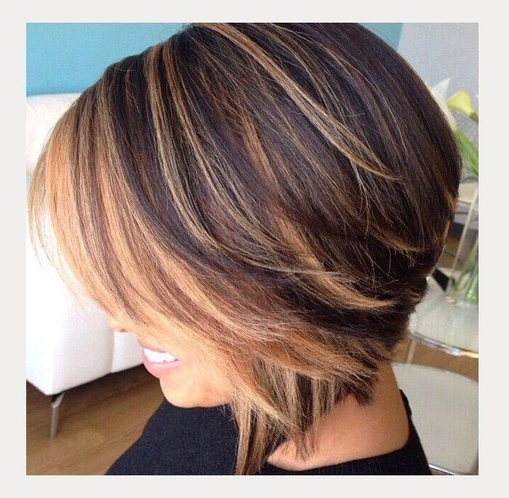 Photo Gallery of Medium Length Inverted Bob Hairstyles ...